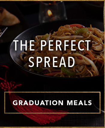 THE PERFECT SPREAD - GRADUATION MEALS